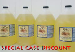 Four Gallon Jugs of Fragrance Free - Special Case Discount
